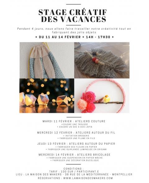 Stage des Vacances - 7/12...