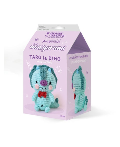 Kit Crochet Taro le Dino
