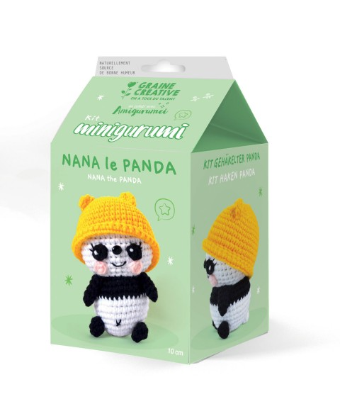 Kit Crochet Nana le Panda