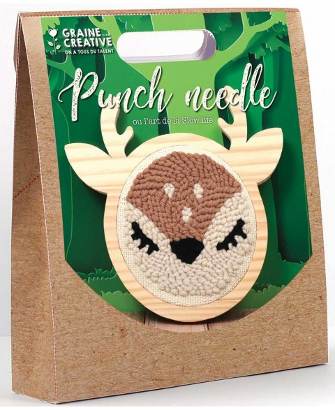 Kit Punch Needle Biche