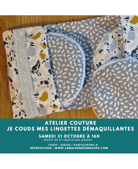 Atelier : Je Couds ma...