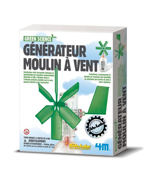 Jouet STEAM : Generateur...