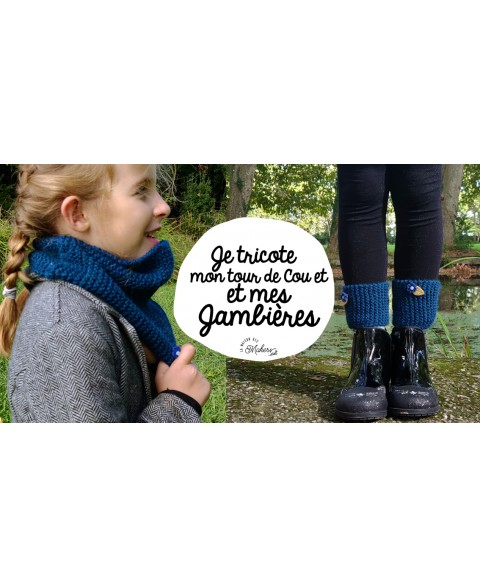 Kit Créatif : Je tricote...