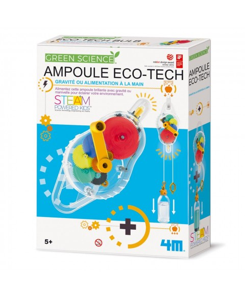 Jouet STEAM : Ampoule eco-tech