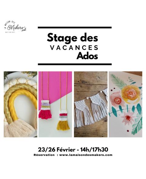 Stage - Vacances Février -...