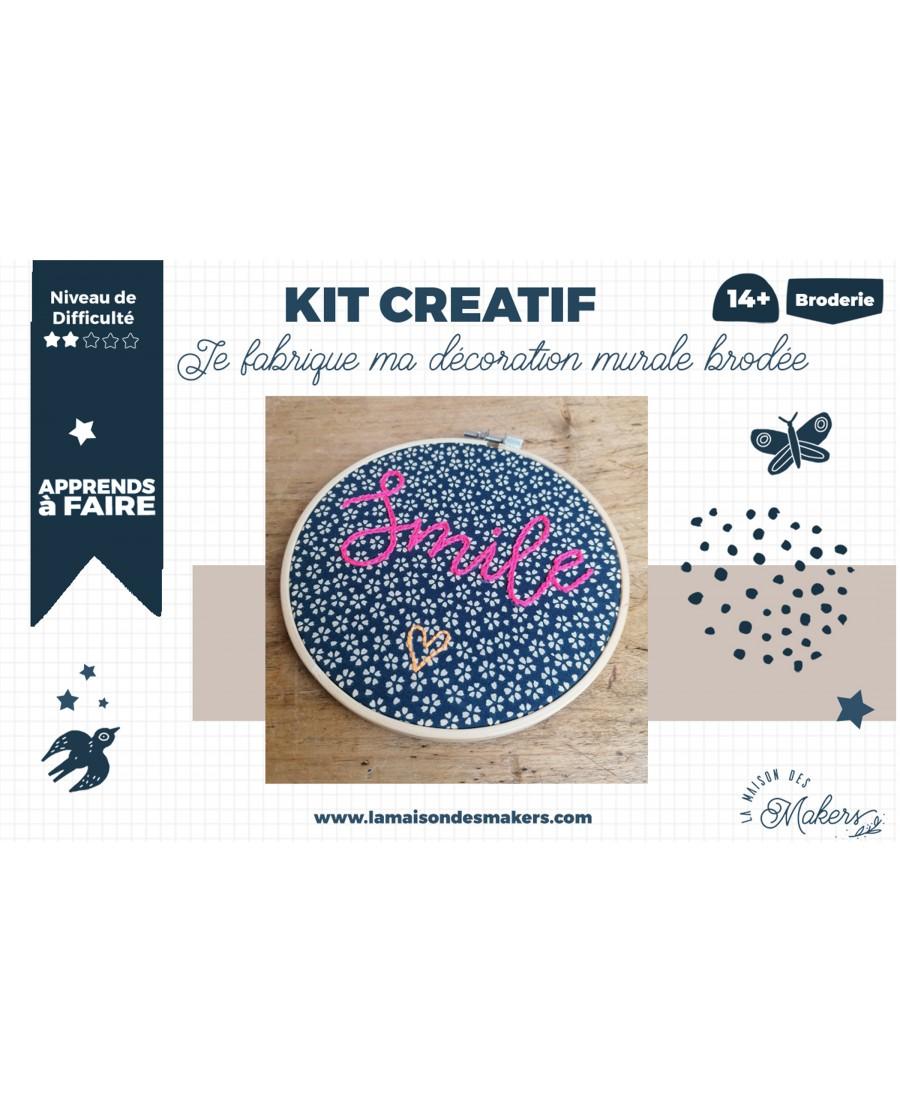 Kit DIY : Broderie