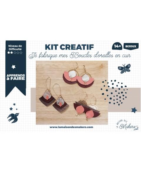 Kit créatif Bijoux en cuir