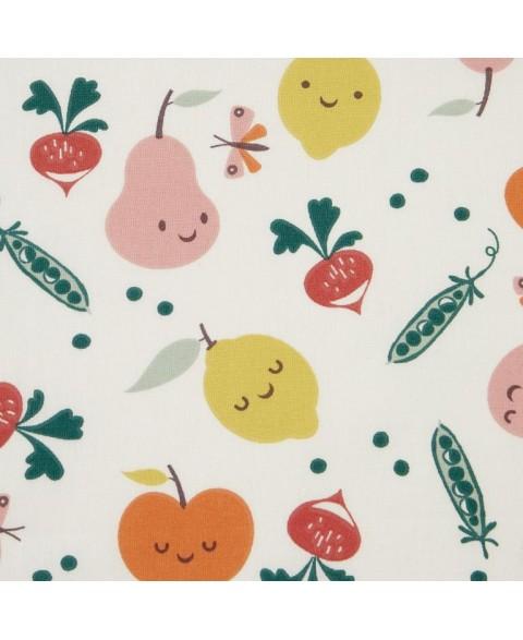 Tissu coton coloré - Motifs...