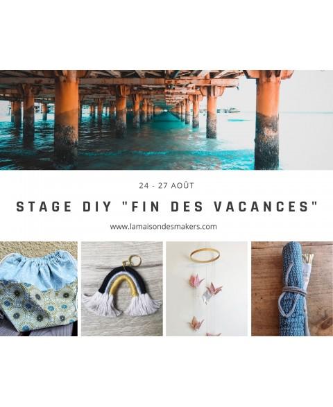 """Stage Vacances """"Fin des..."""