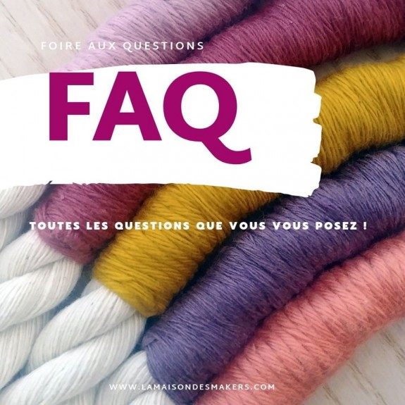 FAQ en préparation !